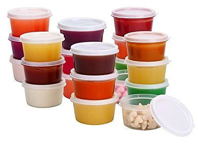 Mini Food Storage Containers Condiment and Sauce Containers  Lunch Boxes