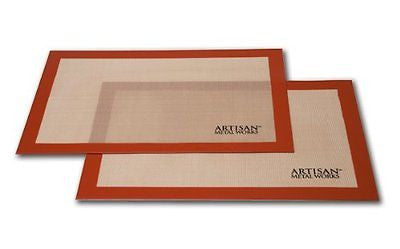 Artisan Non-Stick Silicone Baking Mat Set - 2 Pack
