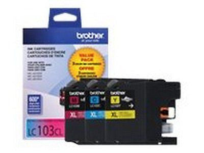 LC103 Ink Cartridge ( Cyan Magenta Yellow 3-Pack )