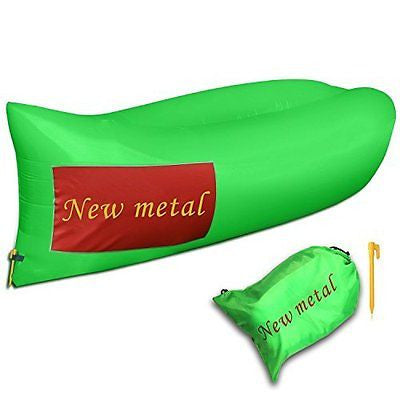 New metal? Outdoor Inflatable Lounger ,Inflatable Hangout Bean Bag