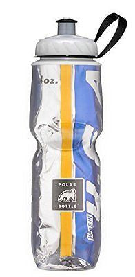 Polar Bottle Insulated Water Bottle (Gold/Blue) (24 oz) - 100% BPA-Free Water