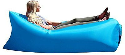 Outdoor Portable Inflatable Lounger Beach Sofa with Compression Air Bag