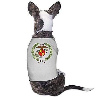 YRROWN Eagle Globe And Anchor Logo Dog Shirt