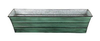 Achla Designs Galvanized Tin Window Box