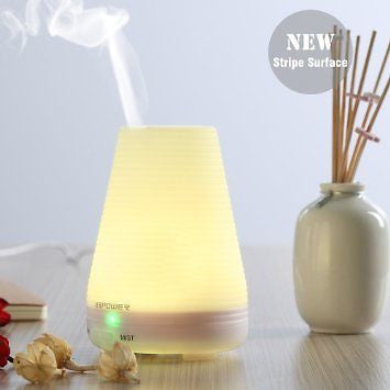 Essential Oil DiffuserURPOWER Aromatherapy Diffuser100ML Humidifier with Timi...