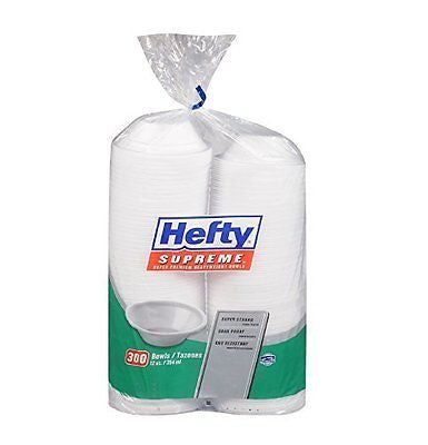 Hefty Supreme Bowls - 300 ct. - 12 oz.
