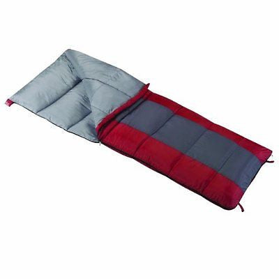 "Wenzel Lakeside 40-Degree Sleeping Bag 33"" x 75"""