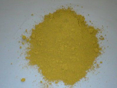 1 lb. YELLOW Powdered Color for Concrete, Plaster, Cement