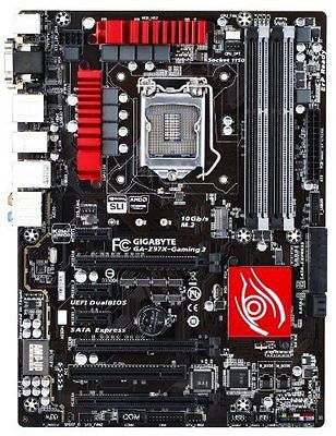 Gigabyte GA-Z97X-GAMING 3 LGA 1150 Z97 Gaming Audio Networking ATX Motherboard