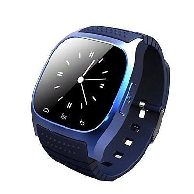 Bluetooth Wearable Smartwatch with Touch Screen Display Dial Music Player