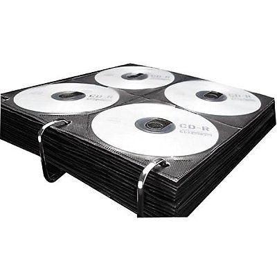 Vaultz CD Binder Pages, 8 CD Capacity per Sheet, 25 Sheets per Box
