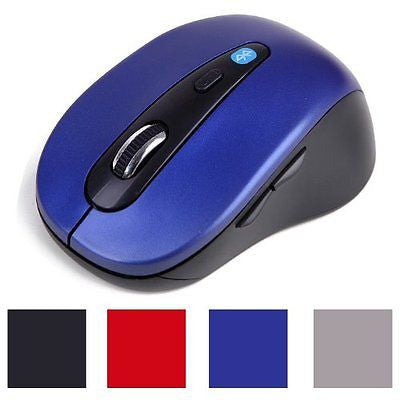 HDE Ergonomic Bluetooth 3.0 Wireless Optical Mouse
