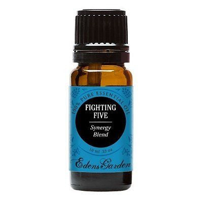 Fighting Five Synergy Blend Essential Oil by Edens Garden