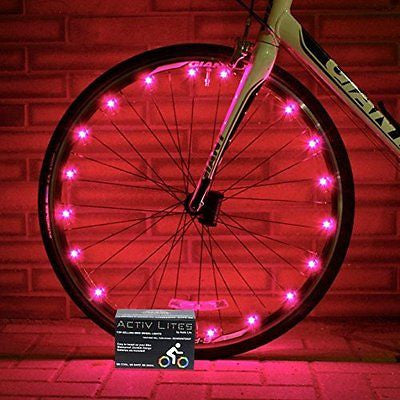 Super Cool LED Bike Wheel & Frame Lights - Brighten Your Bicycle Spokes