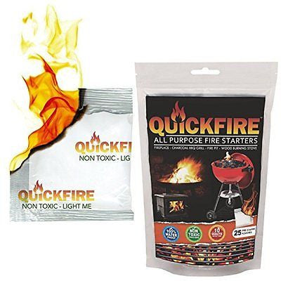 QuickFire, Instant Fire Starters. Voted #1 Camping And Charcoal BBQ Fire Starte