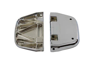 V-Twin 27-0500 - Chrome Passenger Footboard Set