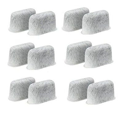 WaterFilter 12-replacement Charcoal Water Filters for Cuisinart Coffee Machines