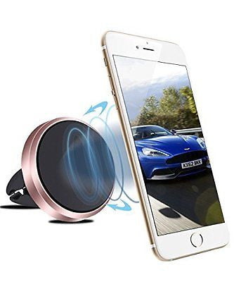 Car Mount, Vofolen? 360¡« Rotable Magnetic Air Vent Mount Car Cradle Universal C