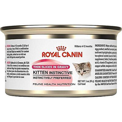 ROYAL CANIN FELINE HEALTH NUTRITION Kitten Instinctive thin slices