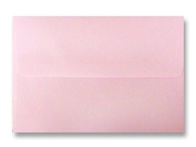 Free Shipping 50 Pastel Baby Pink Square Flap A7 (5-1/4