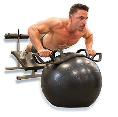 The HELM Core Fitness Strength Training System - Multi Grip Push Up and Plank De
