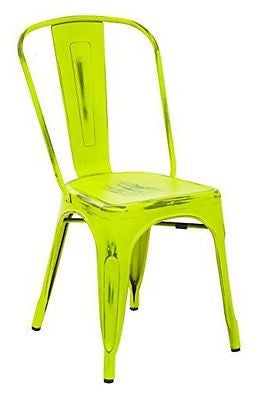 Bristow Armless Chair Antique Lime/4-Pack