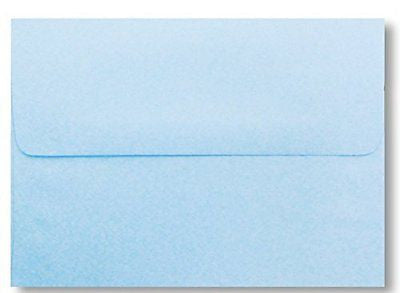 "Free Shipping 50 Boxed Pastel Baby Blue A7 Envelopes for 5"" X 7"" Greeting Cards"