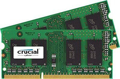 Crucial 16GB Kit (8GBx2) DDR3L 1600 SODIMM Memory for Mac System