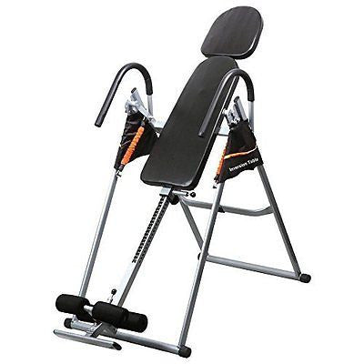 Topeakmart Gravity Inversion Padded Table with Padded Back Rest