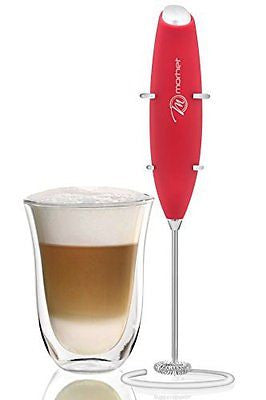 Electric Handheld Milk Frother mixer - Stainless Steel Whisker- Easy to Use