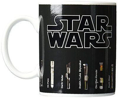 Fancyus Star Wars Lightsaber Heat Change Mug
