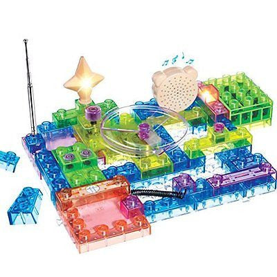 QUN FENG Newest Educational Toys Game Electronic Building Blocks Sets Enlighten