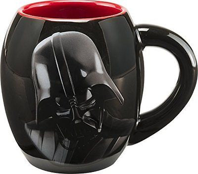 99561 Star Wars Darth Vader 18 oz  Oval Ceramic Mug