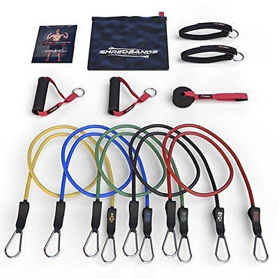 ! Master of Muscle - Resistance Bands - 11pc Set - Superior Door Anchor