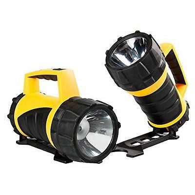 2 Rayovac Professional Industrial LED Flashlight Lantern Waterproof 110 Lumens