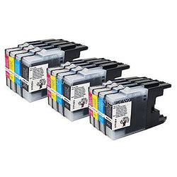 12PK(3 Black 3 Cyan 3 Magenta 3 Yellow) compatible LC71 LC75 LC79 Ink Cartridge