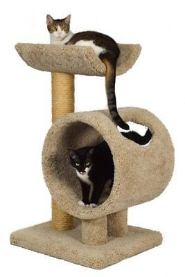 Molly and Friends Tunnel and Cradle Sisal Scratching Post