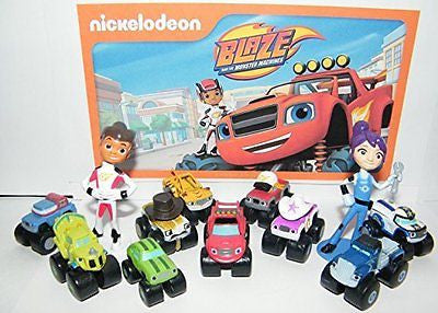 Nickelodeon Blaze and the Monster Machines Party Favors Goody Bag Fillers Set