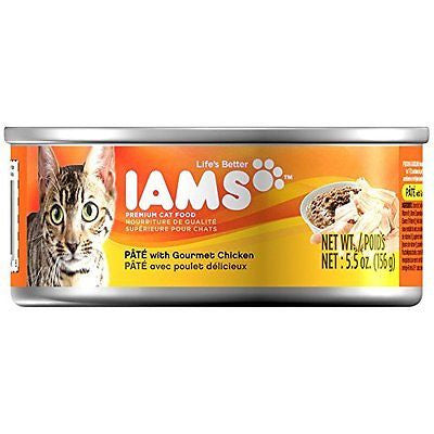 IAMS Premium Cat Food Adult Filets with Chicken Wet Cat Food