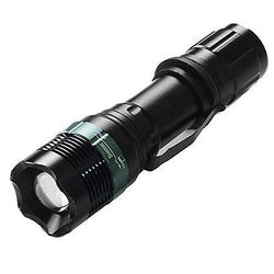 ANNT? CREE LED Flashlight Torch with 3 Modes Zoomable Adjustable Focus Water