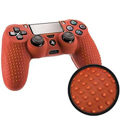 Controller Skin Premium Protective Silicone Grip Case Cover for PS4 Controller