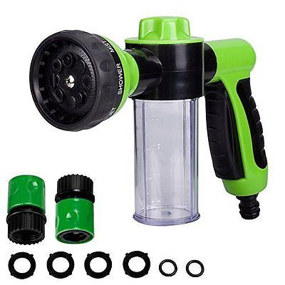 Lantoo Garden Hose Nozzle Hand Sprayer, Heavy Duty High Pressure Water Sprayer