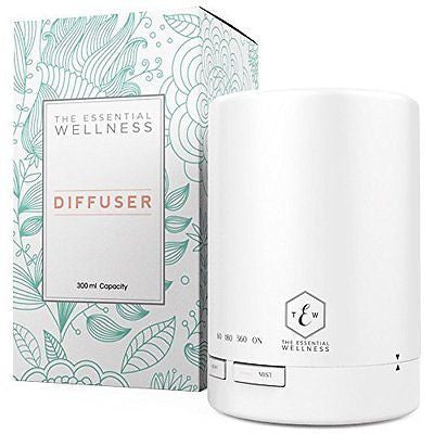 Essential Oil Diffuser & Ultrasonic Cool Mist Humidifier 300 ml