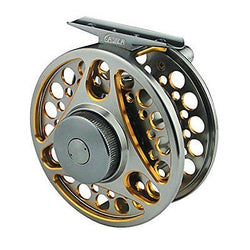 Dual Color Aluminum Alloy Machine Cut Fly Fishing Reels WF5/6