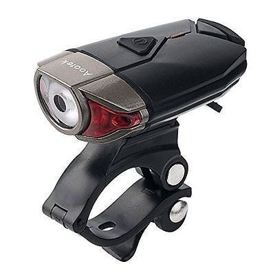 USB Rechargeable LED Bike Light Waterproof Helmet Light for Cycling Safety
