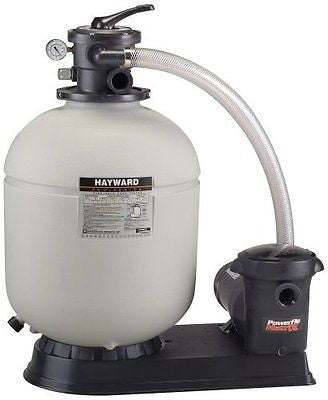 Hayward Pro Series Top-Mount Sand Filter 14-Inch 4-way Valve and 40 GPM Pump