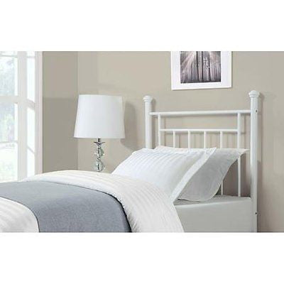 Dorel Living Twin Headboard White Durable and made of High-Quality Materials