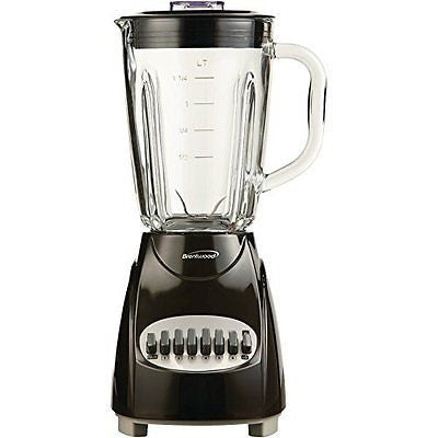 BRENTWOOD JB-920B 12-Speed Countertop Blender with Glass Jar (Black) electronic