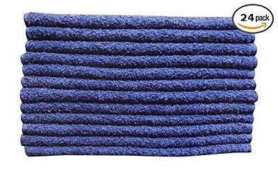 Linteum Textile 100% Soft Cotton PREMIUM WASHCLOTHS Face Towels 13x13
