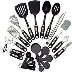 22 piece Kitchen Utensils Sets Stainless Steel & Nylon Gadgets